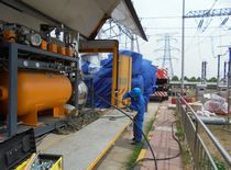 SF6 Gas-insulated switchgear Recovery of Polluted factory-sell-directly