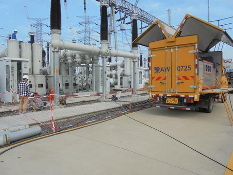 SF6 hvdc maintenance systems enervac
