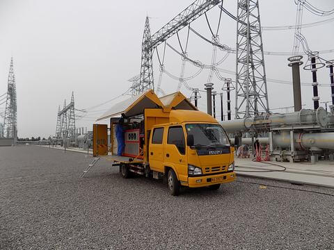 SF6 66 kv gis switchgear Zero emission rental