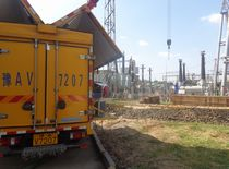 SF6 underground substation Recovery of Polluted Siemens