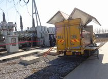 SF6 distribution transformer leakage test rental
